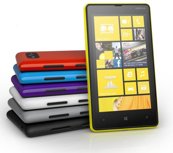 Nokia Lumia 920 и 820 – первые подробности