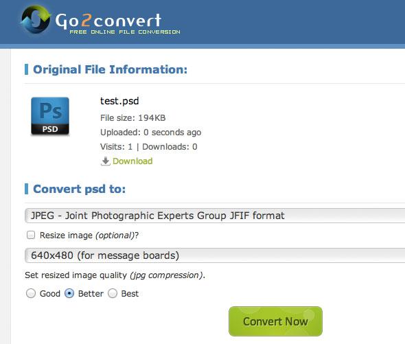 просмоторщик PSD-Go2convert