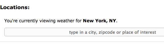 Расширения для Chrome, получения прогноза погоды