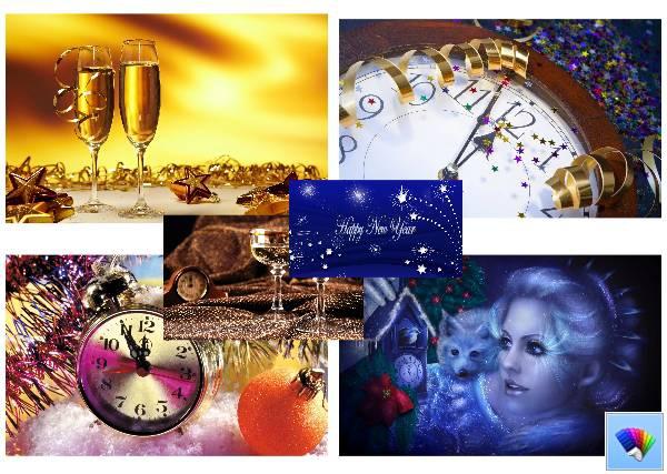 Новогодние темы для Windows 8