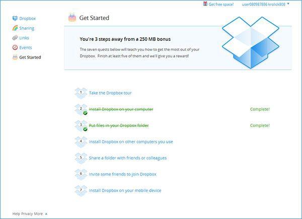 Dropbox сервер хранения информации