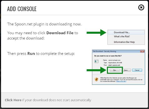 """Сервис Spoon.net. """"Песочница"""" для запуска приложений"""