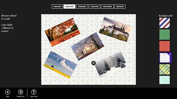 Создание коллажа в Windows 8 с помощью приложения Cool Collage