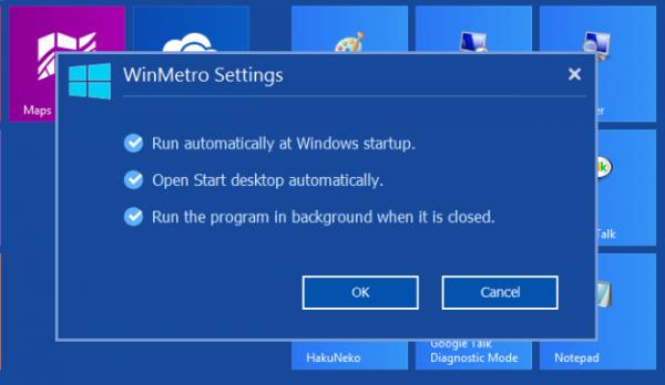 Интерфейс Metro для Windows 7