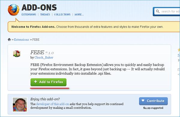 Как создать резервную копию Mozilla Firefox
