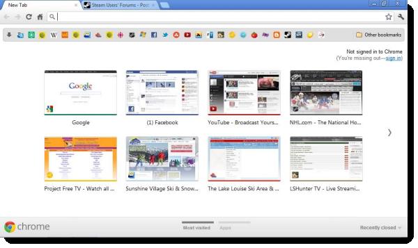 Google Chrome: новый уровень минимализма