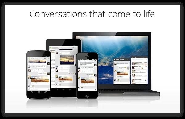 Google Hangouts: первые впечатления