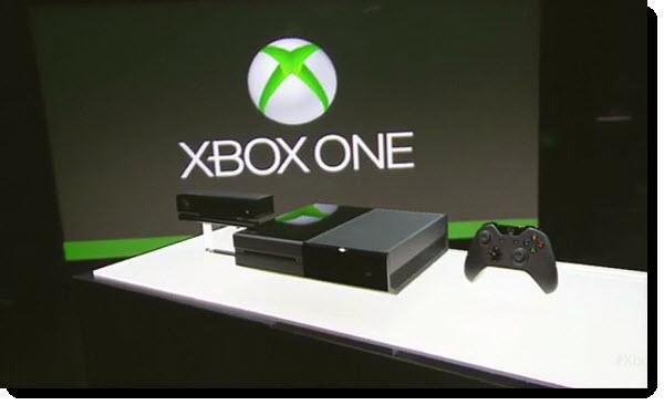 окончательный дизайн Xbox One
