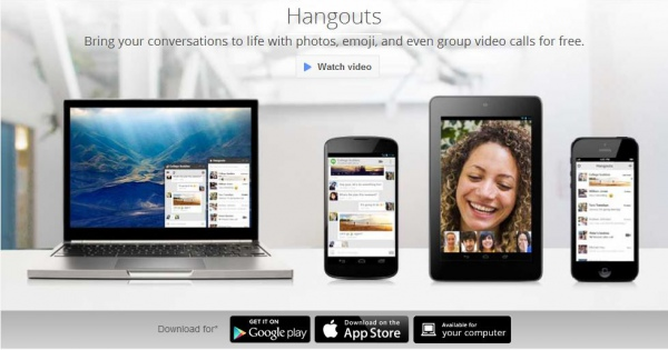 Google Hangouts имеет проблемы, но готов объединить в себе все возможности социальных сетей