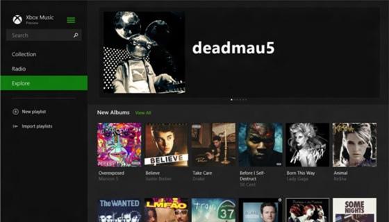 Xbox Music 2.0 для Windows 8.1