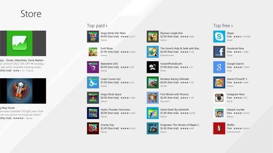 Обновленный Windows Store для Windows 8.1