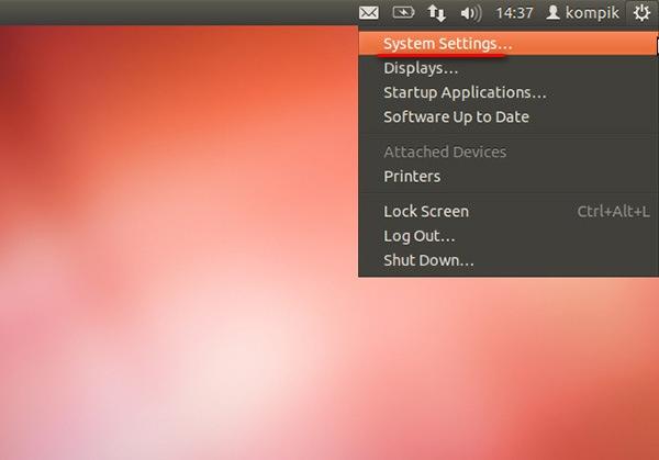 Как в Linux Ubuntu изменить язык системы