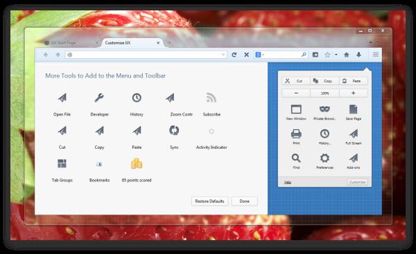 Выпуск Firefox 22, интерфейс Australis и новый логотип Firefox