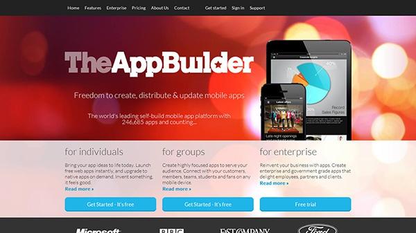 TheAppBuilder - создание онлайн