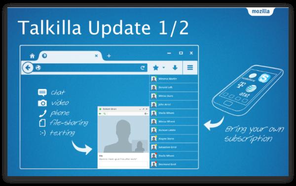 Mozilla может представить полноценную альтернативу Skype