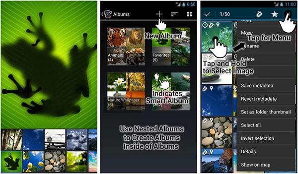 галерея для андроид F-Stop Media Gallery