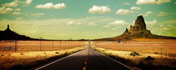 Обои: дороги и машины
