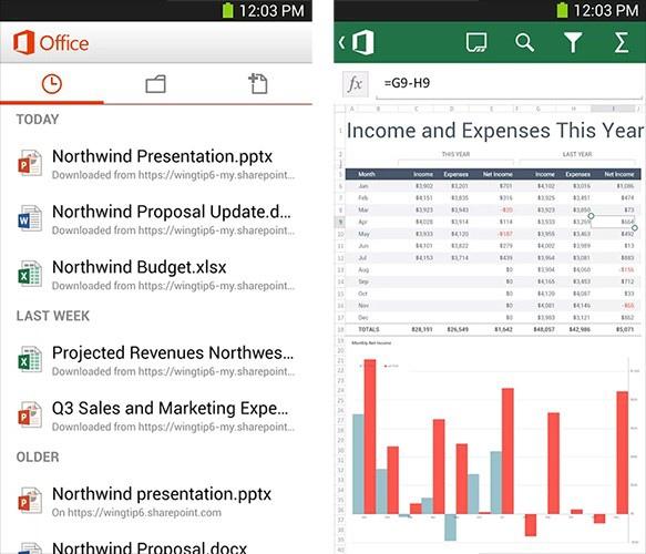 Microsoft выпустила Office для Android, требующий подписки на Office 365