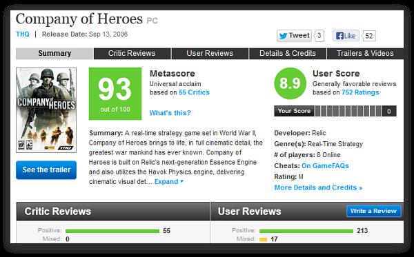 Company of Heroes 2: фашистские игры или главное игровое разочарование года