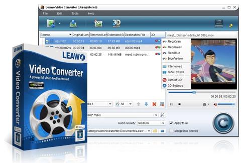 Leawo FLV Converter. Простая конвертация FLV