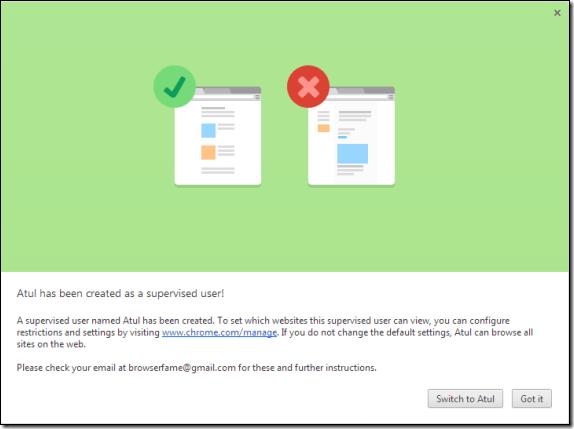Google Chrome получит родительский контроль