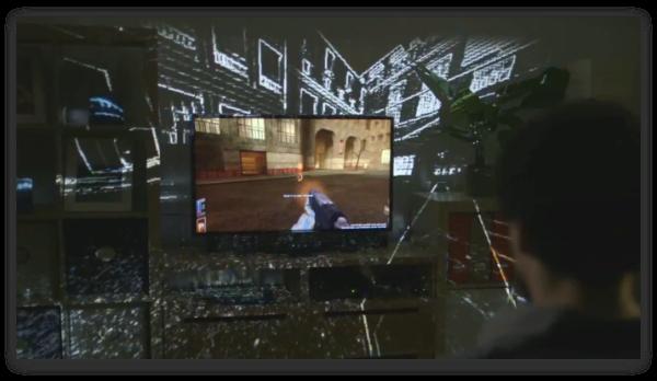 Несостоявшееся чудо: Microsoft IllumiRoom и VR-шлем от Sony