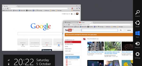 Google встроит Chrome OS прямо в Windows 8
