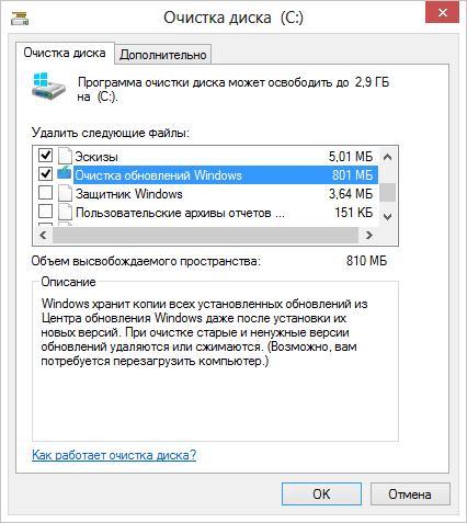 Папка WinSxS и ее очистка в Windows 7 и 8/8.1