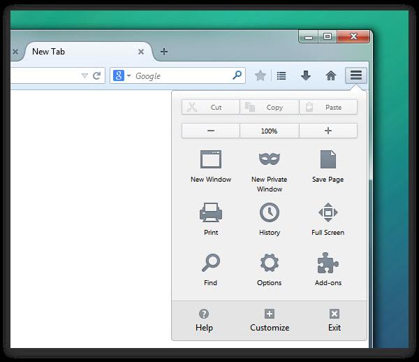Australis появился в ночных сборках Firefox