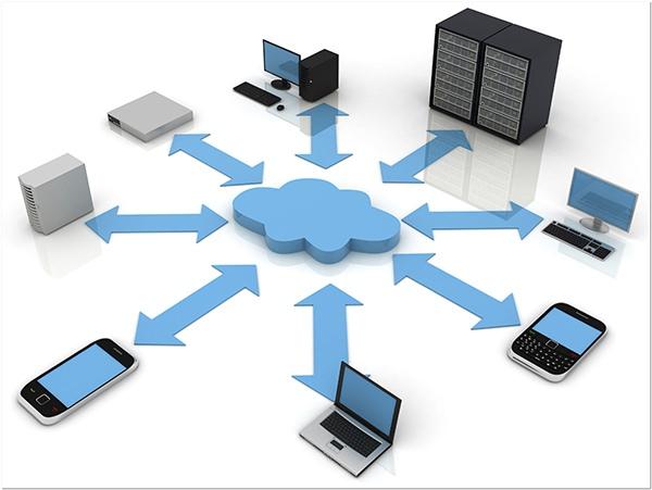 передача данных используя облачные сервисы