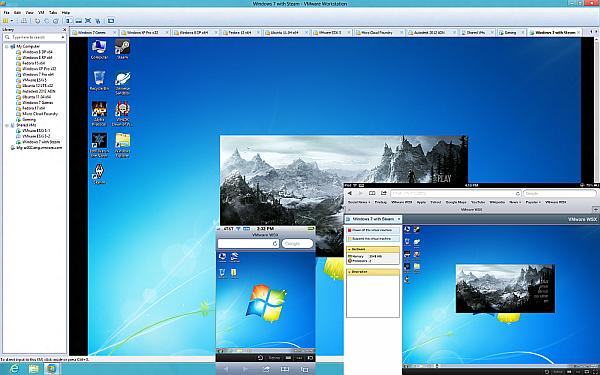 лучшие программы VMware Workstation