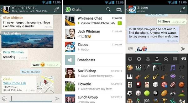 нужное приложения WhatsApp Messenger