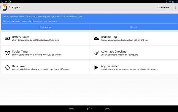 android приложение Trigger