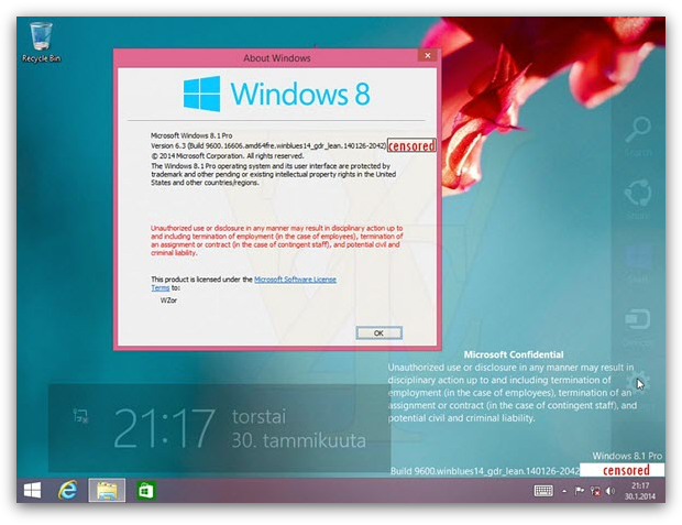 Windows 8.1 Update 2014: что нового?