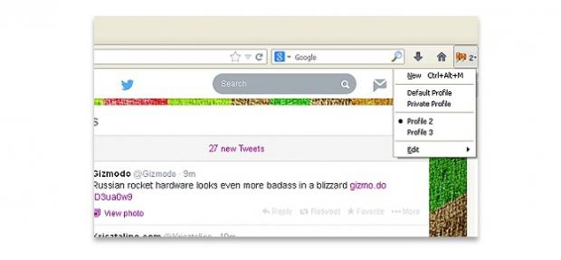 Multifox – дополнение Firefox для входа в несколько аккаунтов