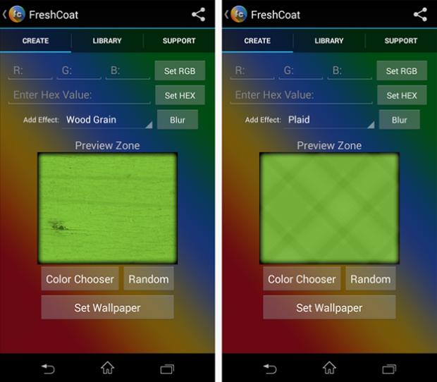 Как сделать обои для Android