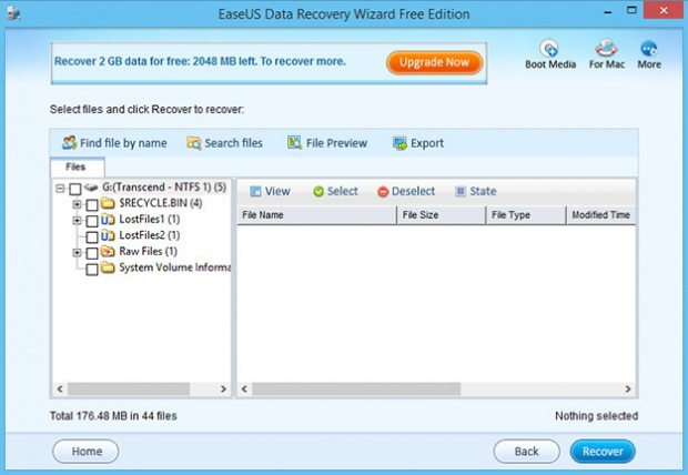Восстановить удаленные файлы - программа Data Recovery Wizard