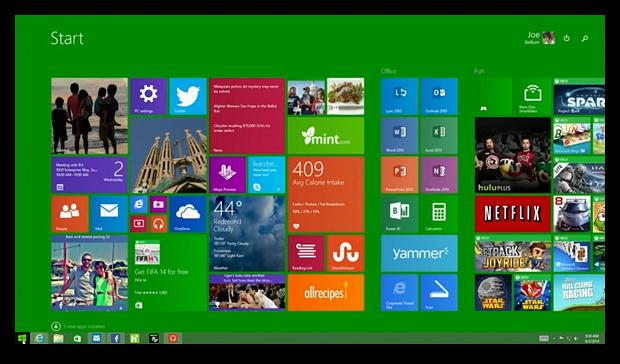 Скачать Windows 8.1 Update 1 станет возможным 8 апреля