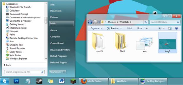 8 тем для оформления Windows 7
