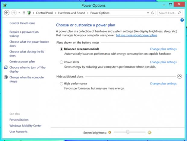 5 правил продления жизни батареи планшета на Windows 8.1