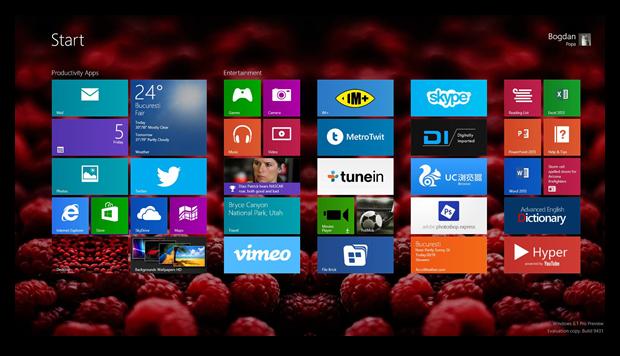 Windows 9: обновления, Metro 2.0 и облачные сохранения