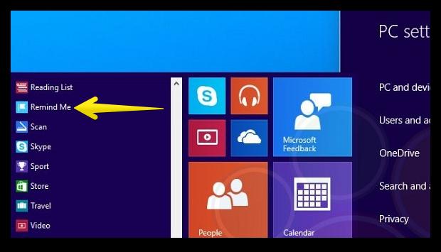 Новые функции Windows 9
