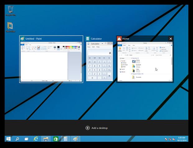 Самые яркие нововведения Windows 10