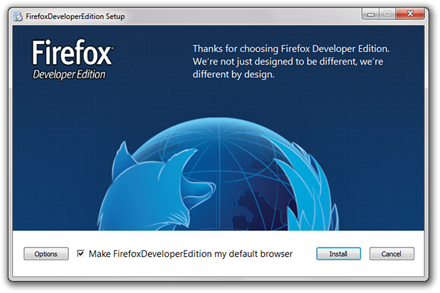 Mozilla представила Firefox 33 1, Firefox Developer Edition