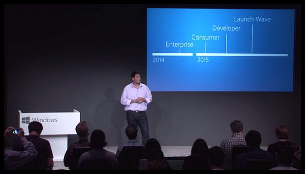 Windows 10 Consumer Preview покажут в конце января