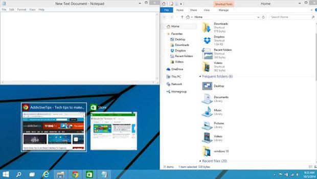 Новые возможности функции привязки окон в Windows 10