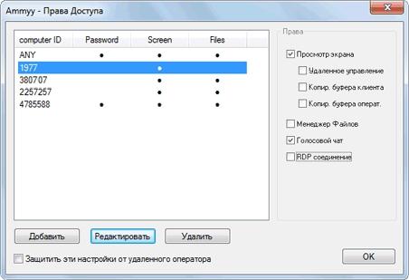 Ammyy Admin — инструмент удалённого администрирования