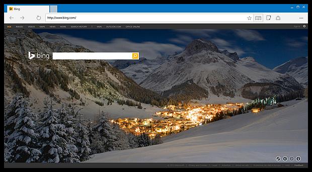 Новый браузер Microsoft: интерфейс и первая подробная информация