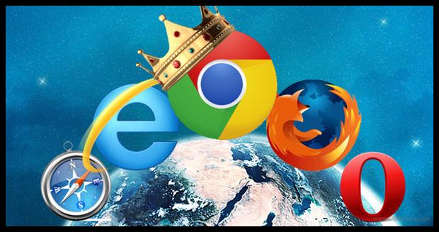 Статистика браузеров за февраль 2015