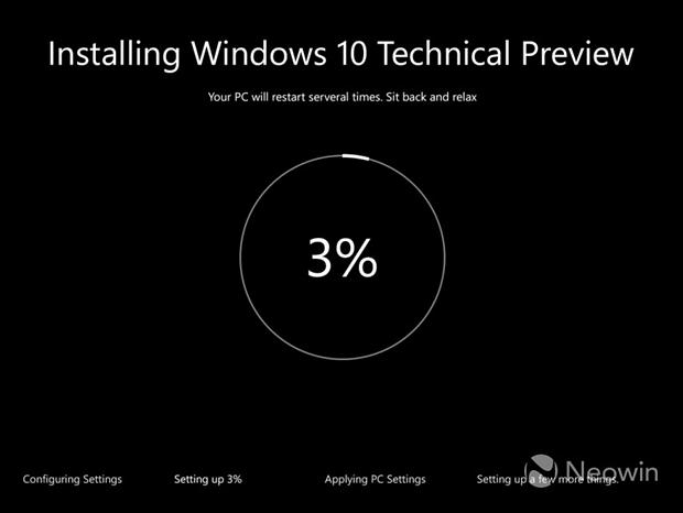 Windows 10: новый интерфейс установки и улучшенная функция TaskView